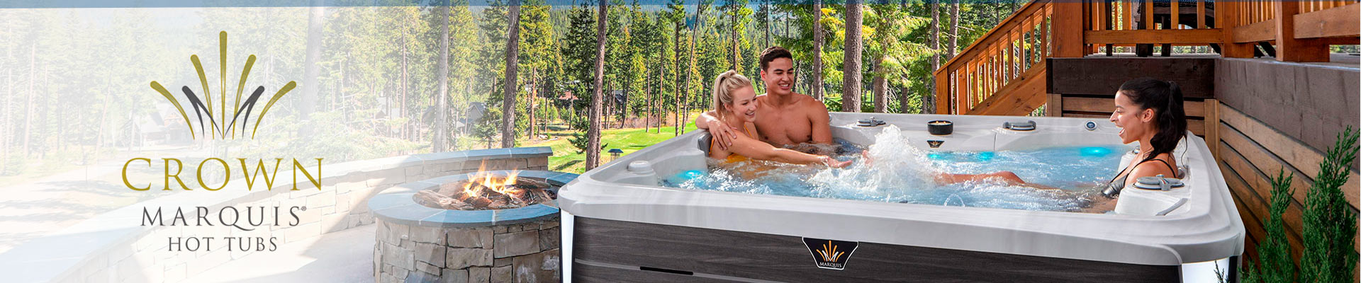 The Crown Collection Marquis Hot Tubs